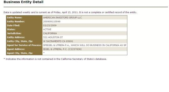 American Investors Group - Home of the Whopper!